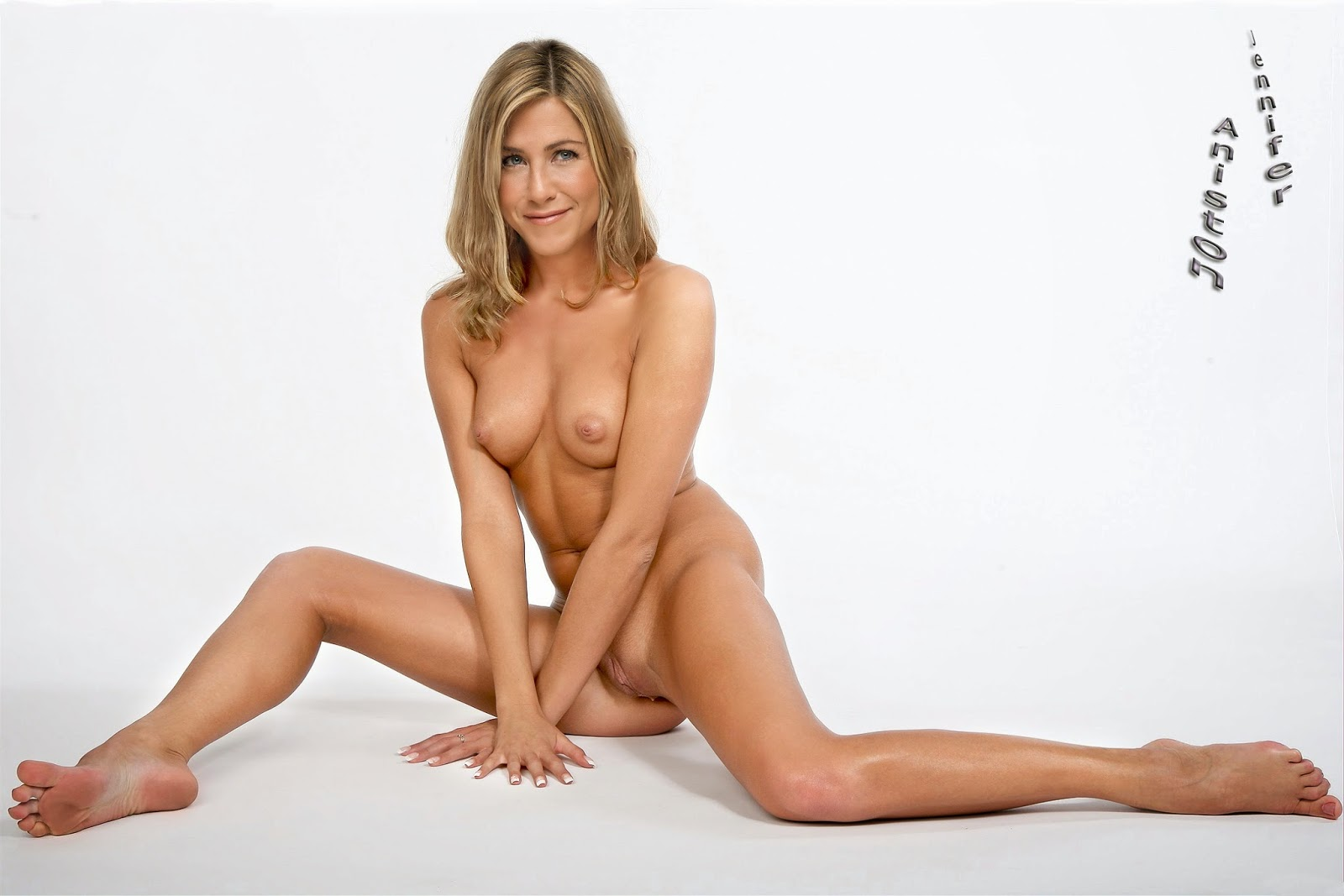 Aniston naked and